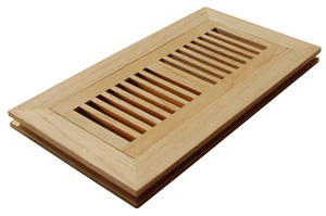 floor registers, wood floor registers, air registers, wood registers
